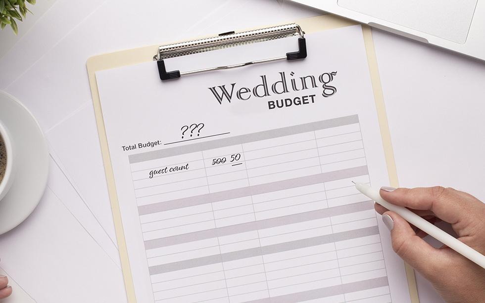 wedding budgeting